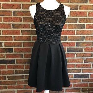 Miami Clothing Black Dress Size Small